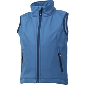 Color Kids Bajur Softshell Vest Kids Jeans Blue